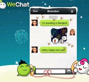 WeChat App reaches 300 Mn Users