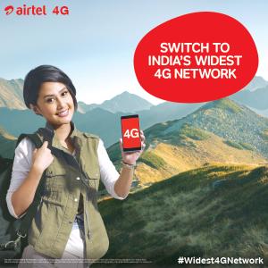 Airtel 4G LTE Spectrum