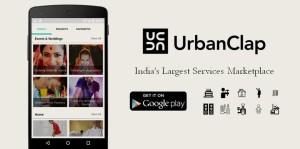 UrbanClap - Online Services market